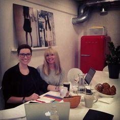 Säg Hej till vår fantastiska PR byrå i Norge @thisispr  #workshop #höst13 #pr #mq #norge