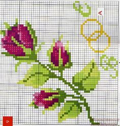 Embroidery On Clothes, Hand Embroidery Stitches, Embroidery Techniques, Cross Stitch Embroidery, Embroidery Patterns, Cross Stitch Patterns, Cross Stitch Bookmarks, Cross Stitch Rose, Modern Cross Stitch