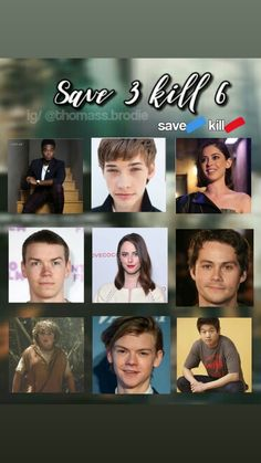 I know im definatly saving Newt♡. Minho is also saved. But i really don't know between thomas and Chuck. Sorry thomas, as long as i like you, i gotta save chuck. Hes too young to die. Maze Runner Funny, Maze Runner The Scorch, Maze Runner Cast, Maze Runner Movie, Maze Runner Series, Thomas Brodie Sangster, Minho, The Scorch Trials, Bobe