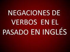 Inglés Americano - Lección 51 - Negaciones de Verbos en el Pasado