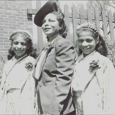 Its from left: Prince mother Mattie Shaw ,his grandmother Lucille and his aunt Edna Mae Collier. His mother and aunt were twins.