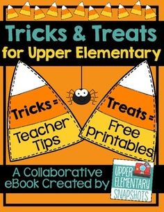 A Halloween and Fall ebook created by the teachers at Upper Elementary Snapshots. It is filled with tricks and treats for every upper elementary classroom teacher. Teaching Activities, Teaching Reading, Classroom Activities, Teaching Math, Teaching Ideas, Classroom Ideas, Elementary Teaching, Creative Teaching, Math Classroom