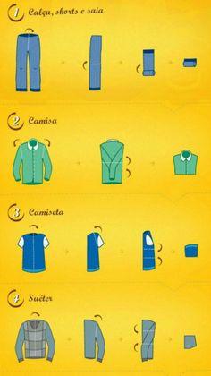 Como arrumar sua mala para caber tudo