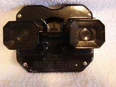 Vintage View-Master SAWYERS Black Portland Oregon Stereoscope in box