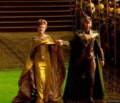 """Loki was never Odin's son. Loki was never Laufey's son. But Loki has and always will be Frigga's son."" <3"