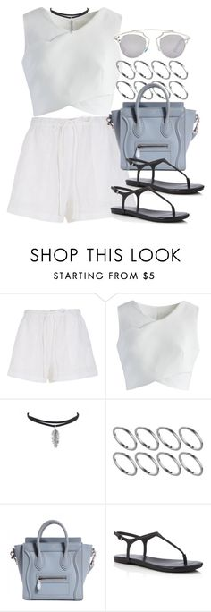 """""""Style #11010"""" by vany-alvarado ❤ liked on Polyvore featuring TIBI, Chicwish, ASOS, Splendid and Christian Dior"""