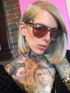 Jeffry Star, Beauty Killer, Alien Queen, Artists And Models, Linda Hallberg, Eyeshadow Looks, Celebs, Celebrities, Hair Goals