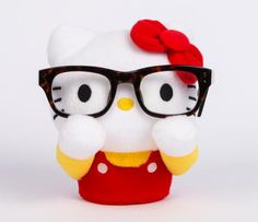 Hello Kitty Eyeglass Stand: Plush