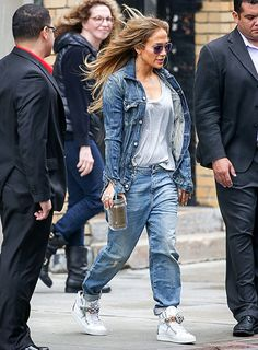 J. Lo chills out in Manhattan after her homecoming performance in the Bronx on June 5