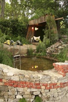 whirlpool jacuzzi naturnahes design ideen
