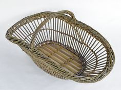 long fitched willow basket by Katherine Lewis
