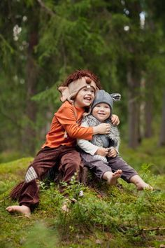 a troll and a mouse by tinttu Children Clothes, Troll, Fairy Tales, Kids Outfits, Inspirational, Couple Photos, Couples, Friends, Girls
