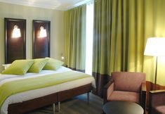 Genial Deco Chambre Vert Anis Et Chocolat U2013 Visuel