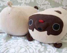 Pug Pillow - plush