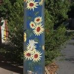 Street art Stobie poles