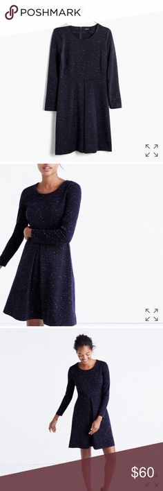 *1-day sale!* Madewell Concept Dress Juniper Berry Like new condition!  Only worn once.  No trades please.  More photos to come. Madewell Dresses