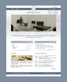 Studio Legale e Notarile #website #web #webdesign #legal #lawyer #webdevelopment #layout #responsive #html #seo #mrapps