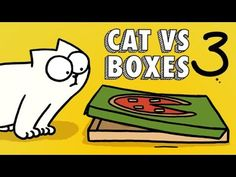 Simon's Cat Guide to Boxes Part 3 - Neatorama Simons Cat Video, Social Thinking Curriculum, Kinds Of Cats, Cat Accessories, Cat Gif, Cat Toys, Kitten, Cute Animals, The Incredibles