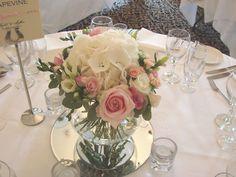 vintage table arrangement - Google Search