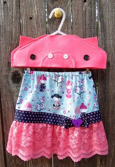 Sweet Dots Skirt by FreckledChicken on Etsy, $29.00