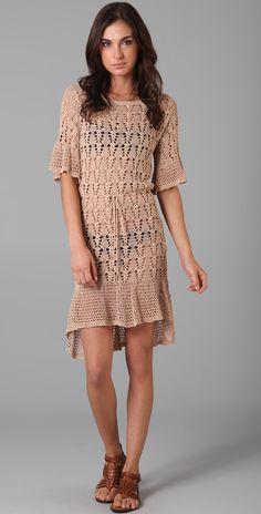 Outstanding Crochet: Foley + Corinna. Crochet dress.