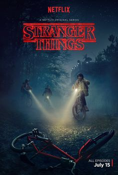 'Stranger Things' (2016-) by The Duffer Brothers. The 80's style sci-fi show featured on Netflix. This show is a Stephen King loving, nostalgic haven. A wonderful cast shaping brilliantly observed characters in an eerie, intriguing homage to the greats of the 80's. Goonies style investigation, ET style jeopardy and all of the bizarre and eery aspects of your favourite King classics. The perfect series.