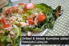 ad: Make grilled romaine chicken salad with  @Kristy Lumsden Still (Mommy Hates Cooking)