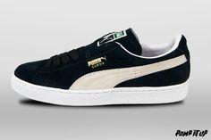 Puma Suede Classic black/white Sizes: 36 to 46 EUR Price: CHF 90.- Unisex  #Puma #SuedeClassic #PumaSuede #Sneakers #SneakersAddict #PompItUp #PompItUpShop #PompItUpCommunity #Switzerland Puma Suede, Baskets, Chf, Switzerland, Sneakers, Unisex, Black And White, Classic, Shoes