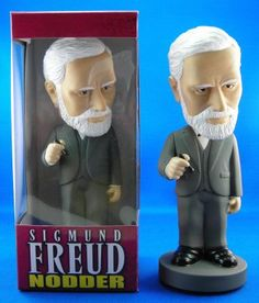 Sigmund Freud bobble head - this is totally appropriate due to my recent obsession with psychology