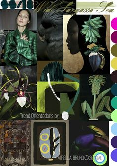 S/S 2018 pattern & colors trends