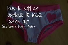 Add an applique to make basics fun!