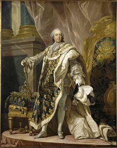 Louis XV France by Louis-Michel van Loo 002 - Louis-Michel van Loo - Wikipedia, la enciclopedia libre