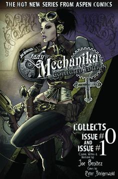 bluelanternashie:  kryptongirl:    Also, those interested in getting your hands on the beginnings of Lady Mechanika, ask your local comic shop about the Collected Edition that should be coming out soon if you're having a hard time finding anything because of sold out issues. This is coming out in April, I believe.    I shall be awaiting the day!