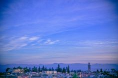 Beautiful view of Marrakesh of our terrace