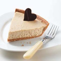 Cappuccino Cheesecake Pie Recipe from Taste of Home