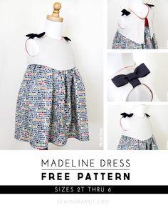 Patron gratuit : la robe Madeline