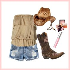 Country Chic - looks like perfect attire for the cavendish beach music festival :)!