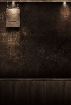 Chalkboard Backdrops Wood Backdrops Lights Background J02677 – ibackdrop