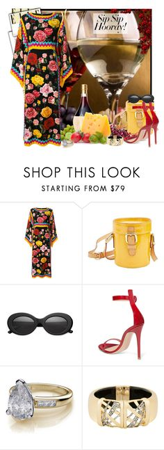 """Girls' Trip: Wine Tasting Time II"" by msmith801 ❤ liked on Polyvore featuring Dolce&Gabbana, Louis Vuitton, Crap, Gianvito Rossi, Alexis Bittar, Lana, girlstrip and WineTastingOutfit"