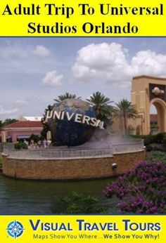 UNIVERSAL STUDIOS ORLANDO ADULT TOUR- A Self-guided Walking Tour- includes insider tips and photos of all locations- explore on your own- Like having a friend show you around! (Visual Travel Tours) by Lisa Fritscher. $9.99. 96 pages