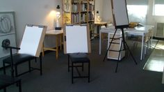 Art Studio Set Up | court tags art art table drawing home painting studio posted date ...