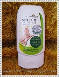 Zebra Testuje: Serum do rąk - Borowinowe . Cleaning Supplies, Serum, Shampoo, Soap, Bottle, Cleaning Agent, Flask, Bar Soap, Soaps