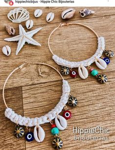 aretes en conchas HairStyles hairstyles when growing out a bob Macrame Earrings, Bead Earrings, Beaded Jewelry, Diy Hippie Earrings, Shell Schmuck, Diy Schmuck, Seashell Jewelry, Seashell Crafts, Hippie Chic