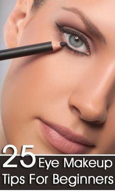 25 Eye Make-up Tips For Beginners