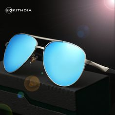 EZREAL HD polarized sunglasses aluminum magnesium polarized men sunglasses glasses mirror vintage male driving glasses