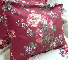 Pair Custom Made Square Pillow Shams  Ralph Lauren by Sew1Pretty, $24.00