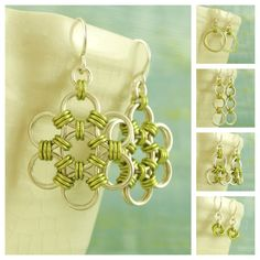 Jewelry Shop Starter KIT - 12 pairs of DIY Chainmaille Earrings. $55.00, via Etsy.