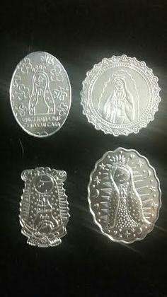 Check out this item in my Etsy shop https://www.etsy.com/listing/456007086/12-thin-metal-embossed-bodas-de-plata