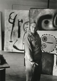 Joan Miró, 1953 by Henri Cartier-Bresson