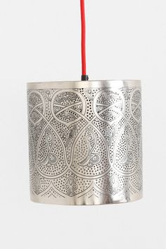 Etched Lamp Shade Online Only